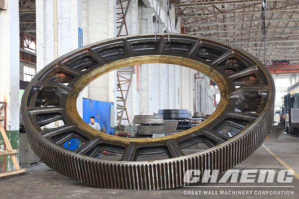 Ball mill  Large girth gear and rotary kiln manufacture in China