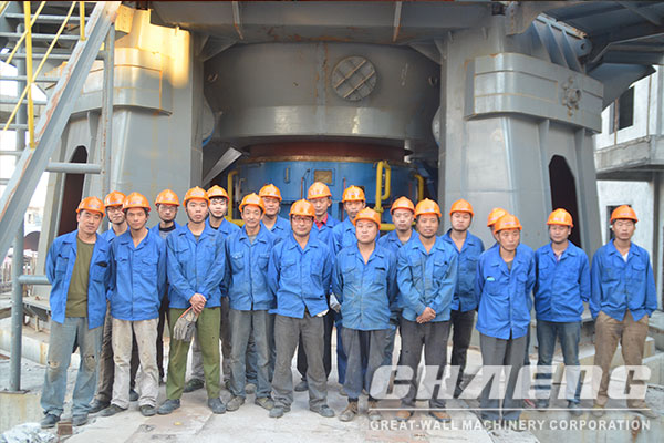 Vertical mill technological innovation to promote development