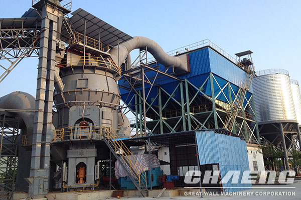 GRM series vertical mill