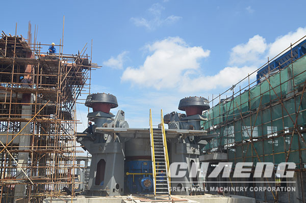 GGBS production line, slag vertical mill, CHAENG