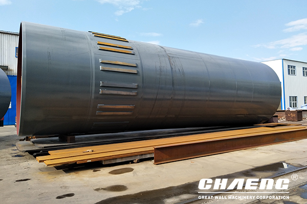 rotary kiln, girth gear, support roller